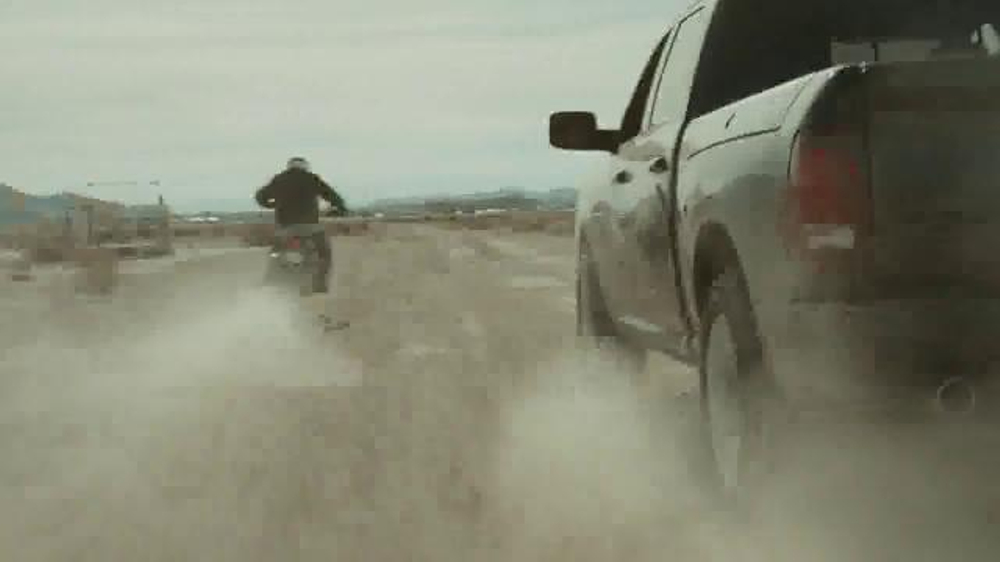 Ram Trucks TV Commercial, 'Motorcycle Skydiving' Song by KONGOS
