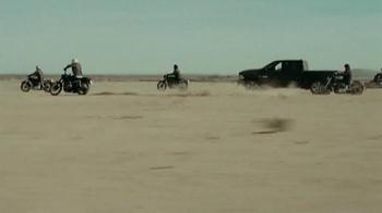 Ram Trucks TV Spot, 'Motorcycle Skydiving' Song by KONGOS - Thumbnail 9
