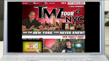TMZ Tour NYC TV Spot, 'Celebrity Safari'