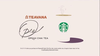 Starbucks TV Spot, 'Have a Happy Mother's Day with New Teavana Oprah Chai' - Thumbnail 6