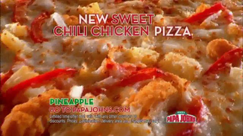 Papa John's Sweet Chili Chicken Pizza TV Spot - Thumbnail 8