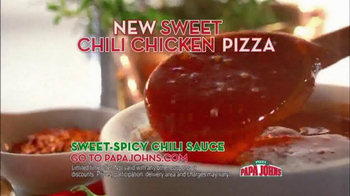 Papa John's Sweet Chili Chicken Pizza TV Spot - Thumbnail 9