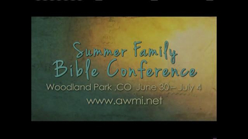 AWMI TV Spot, 'Summer Family Bible Conference' - Thumbnail 8