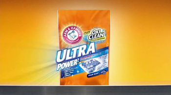 Arm and Hammer Crystal Burst Ultra Power TV Spot, \'Big Clean, Small Price\'