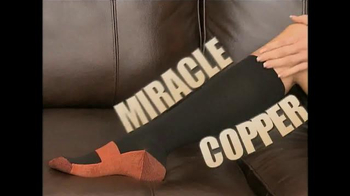 Miracle Copper Socks TV Spot