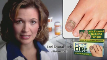 Fungi Cure Anti-Fungal Liquid TV Spot, 'Dr. Lani Dvorak'