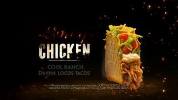 Taco Bell Spicy Chicken Cool Ranch Doritos Locos Tacos TV Spot, 'Twins' - Thumbnail 9