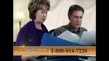 The Final Expense Plan TV Spot