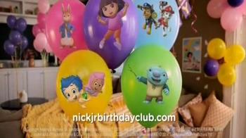 Nick Jr. Birthday Club TV Spot - Thumbnail 9