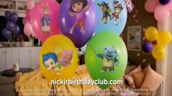 Nick Jr. Birthday Club TV Spot - Thumbnail 8