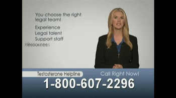 The Hollis Law Firm TV Spot, 'Prescribed Testosterone' - Thumbnail 9