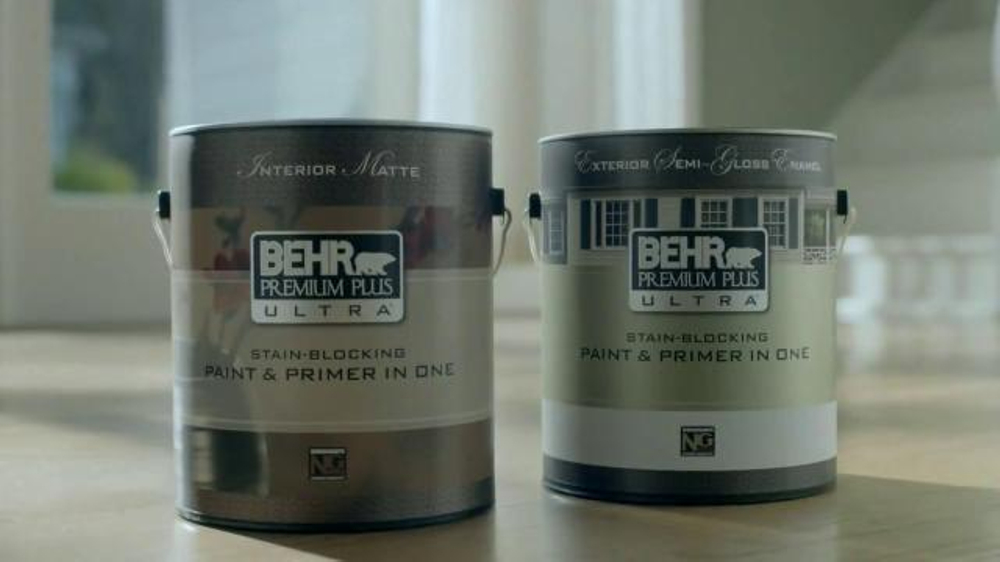 BEHR Paint Premium Plus Ultra TV Commercial,u0027Wet Dogu0027 Song By Bronze Radio  Return   ISpot.tv