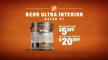 BEHR Paint Premium Plus Ultra TV Spot, 'Wet Dog' Song by Bronze Radio Return - Thumbnail 9