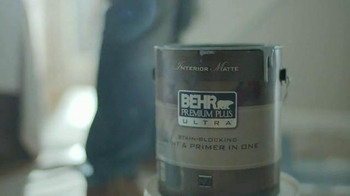 BEHR Paint Premium Plus Ultra TV Spot, 'Wet Dog' Song by Bronze Radio Return - Thumbnail 3