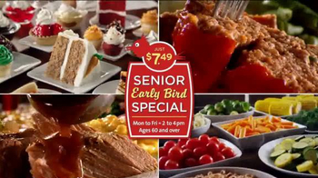 Golden Corral Senior Early Bird Special TV Spot