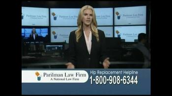 Parilman Law Firm TV Spot, 'Hip Replacement' - Thumbnail 1