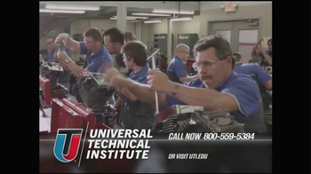 Universal Technical Institute (UTI) TV Spot, \'Technicians Needed\'
