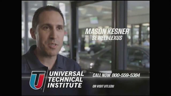 Universal Technical Institute (UTI) TV Spot, 'Technicians Needed' - Thumbnail 9