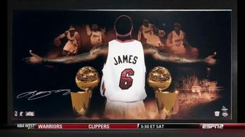 Upper Deck Store TV Spot, 'The World's Greatest LeBron James Memorabilia' - 2 commercial airings
