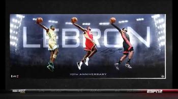 Upper Deck Store TV Spot, 'The World's Greatest LeBron James Memorabilia' - Thumbnail 3