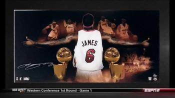 Upper Deck Store TV Spot, 'The World's Greatest LeBron James Memorabilia' - Thumbnail 5