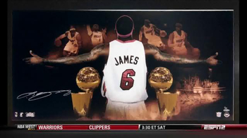 Upper Deck Store TV Spot, 'The World's Greatest LeBron James Memorabilia' - 2 commercial airings