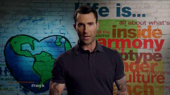 The More You Know TV Spot, 'Instruments' Featuring Adam Levine - 4 commercial airings