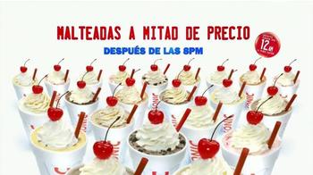 Sonic Drive-In TV Spot, 'Malteadas a Mitad de Precio' [Spanish] - Thumbnail 10
