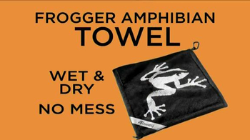 Frogger Golf Amphibian Towel TV Spot, 'Wet Towel' - Thumbnail 7