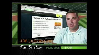 FanDuel Fantasy Baseball One-Day Leagues TV Spot, 'Big Winner: Joe' - Thumbnail 3