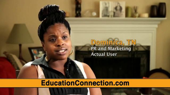 Education Connection TV Spot, 'Dominica's Testimonial' - Thumbnail 5