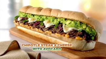 Subway Chipotle Steak & Cheese with Avocado TV Spot - Thumbnail 8