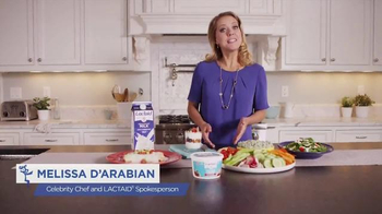 Lactaid Cottage Cheese TV Spot, 'Family' Featuring Melissa D'Arabian - 261 commercial airings