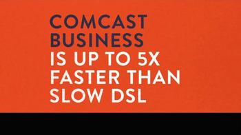 Comcast Business TV Spot, '5x Faster' - Thumbnail 2