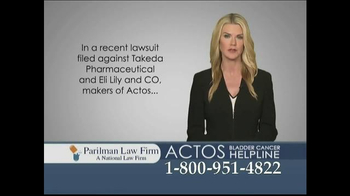 Parilman & Associates TV Spot, 'Actos' - Thumbnail 2