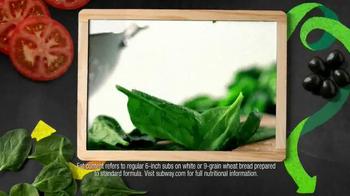 Subway Oven Roasted Chicken TV Spot, 'May $3 Select' - Thumbnail 6