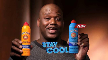 Gold Bond Foot & Body Powder Spray TV Spot Featuring Shaquille O'Neal - Thumbnail 5