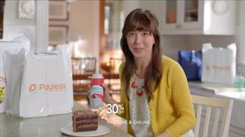 Payless Shoe Source Semi-Annual Sale TV Spot, 'Have Your Cake' - 2979 commercial airings
