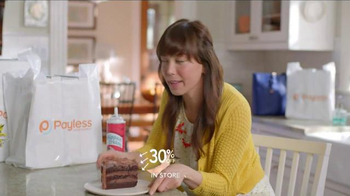Payless Shoe Source Semi-Annual Sale TV Spot, 'Have Your Cake' - Thumbnail 3