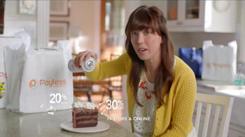 Payless Shoe Source Semi-Annual Sale TV Spot, 'Have Your Cake' - Thumbnail 6