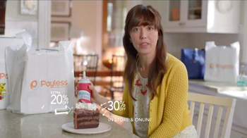 Payless Shoe Source Semi-Annual Sale TV Spot, 'Have Your Cake' - Thumbnail 7