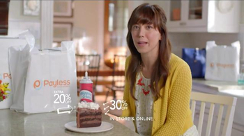 Payless Shoe Source Semi-Annual Sale TV Spot, 'Have Your Cake' - Thumbnail 8