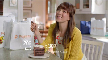 Payless Shoe Source Semi-Annual Sale TV Spot, 'Have Your Cake' - Thumbnail 9