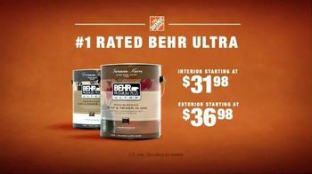 The Home Depot TV Spot, 'Behr Premium Plus Ultra' - Thumbnail 8