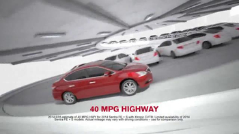2014 Nissan Sentra TV Spot, 'Keep you Moving & Connected' - 135 commercial airings