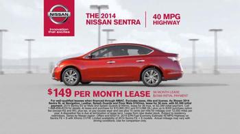 2014 Nissan Sentra TV Spot, 'Keep you Moving & Connected' - Thumbnail 6