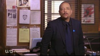 USA Characters Unite TV Spot, 'No More Domestic Violence' Featuring Ice-T - 3 commercial airings