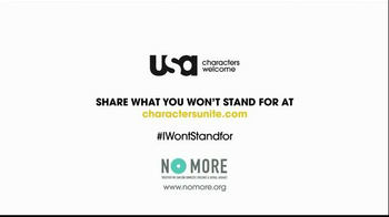 USA Characters Unite TV Spot, 'No More Domestic Violence' Featuring Ice-T - Thumbnail 7