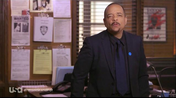 USA Characters Unite TV Spot, \'No More Domestic Violence\' Featuring Ice-T