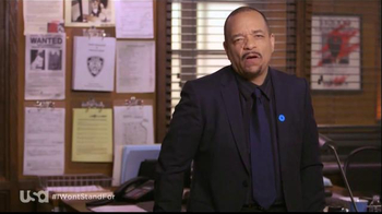 USA Characters Unite TV Spot, 'No More Domestic Violence' Featuring Ice-T - Thumbnail 4